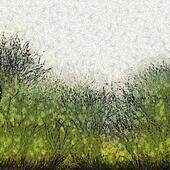 Painted Abstract Grass Texture