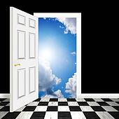 Surreal Heavenly Doorway