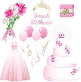 Sweet Sixteen Icons