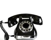 Rotary dial vintage phone