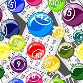 Bingo seamless background