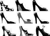 Fashionable women's footwear