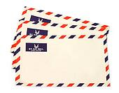 Three airmail envelopes