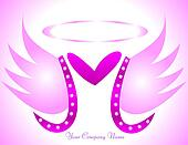 M angel logo