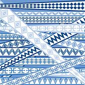 Abstract background with blue decorational elements