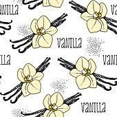 Vanilla seamless background