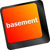 basement message on enter key of keyboard