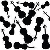 Violins pattern