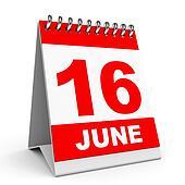 Calendar. 16 June.