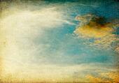 Vintage sky image background.