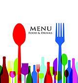 retro cover restaurant menu designs