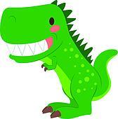 Funny T-rex Dinosaur