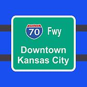 freeway to Kansas City sign