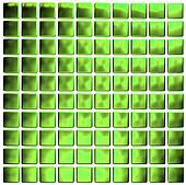 Green mosaic (3d render)