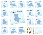 Collage of Saxony-Anhalt counties