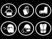 construction site safety symbols