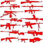 Vector Set of Guns