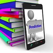 Prediction Phone Shows Estimate Forecast Or Projection