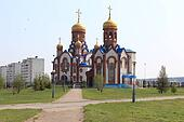 Temple of St. Seraphim of Sarov.