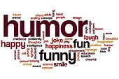 Humor word cloud