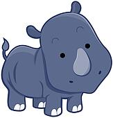 Cute Rhinocerus