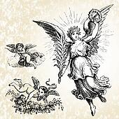 Vector Angels and Background