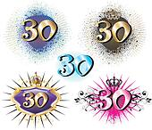 30th Birthday or Anniversary