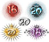 18th Birthday or 20th Anniversary