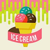 ice cream background