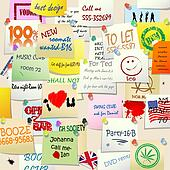 College wall adds