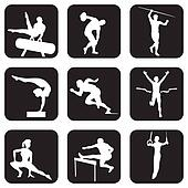 atletic sport icons
