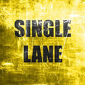 Single lane sign