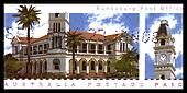 Australia - circa 2008 : cancelled Australian postage stamp depicting  Bundaberg Post Office