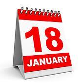 Calendar. 18 January.