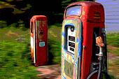 vintage age gas pumps