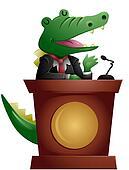 Crocodile Speaker