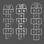 hopscotch game