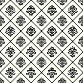Vectpr Damask Pattern