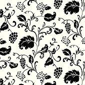 Vector Ivy Pattern