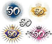 50th Birthday or Anniversary