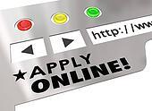 Apply Online Website Internet Browser Application Form