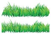 seamless natural looking grass