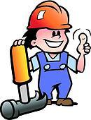 Happy Mechanic or Handyman