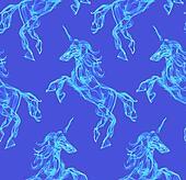 Air unicorn pattern
