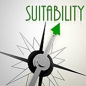 Suitability on green compass