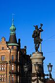 Statue of Hemidall in Stockholm, Sweden
