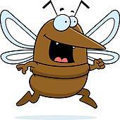 Mosquito Running