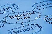 Marketing plan graph