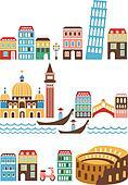 Italian landmarks