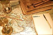 Vintage Map and Chart